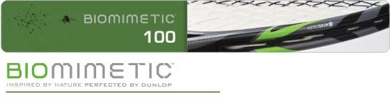 Dunlop Biomimetic 100 Tennisschläger (besaitet)