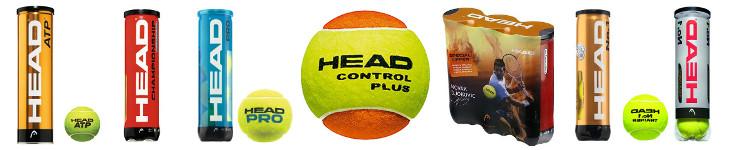 Tennisbälle von Head im Überblick