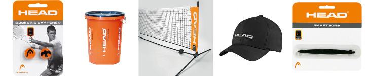 Tenniszubehör von Head im Überblick