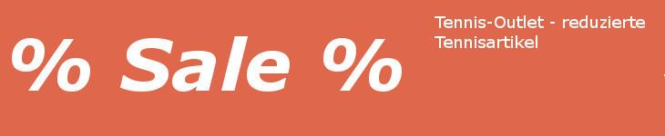 Tennis Outlet Sales - Tennisartikel reduziert preiswert bestellen