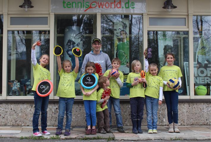 Tennis Shop Tennis World Ladengeschäft