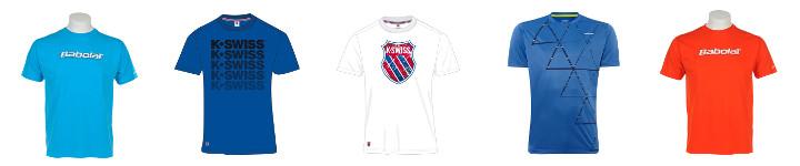 Tennis T-Shirts für Herren