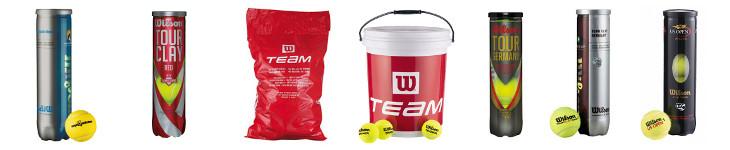Wilson Tennisbälle preiswert online bestellen