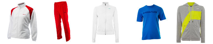 Head Tenniskleidung online bestellen