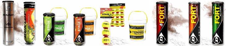 Dunlop Tennisbälle günstig online kaufen - Tennisball
