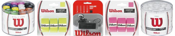 Wilson Tennis Griffbänder online bestellen