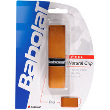 Babolat Natural Grip Basisband, Basisgrip Griffband Leder