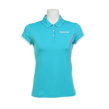 Babolat Polo Performance Women blau 2012 Tenniskleidung