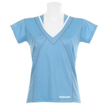 Babolat Polo Women Performance 2011 blau Babolat Frauen Damen Shirt V
