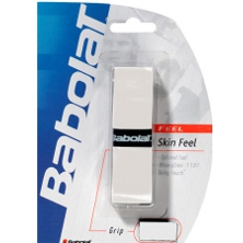 Babolat Skin Feel Basisband Griffband weiss