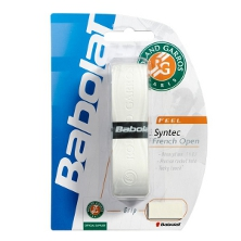 Babolat Syntec Grip French Open weiss Basicband