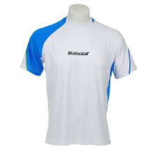 Babolat T-Shirt Men Performance 2012 weiss Tennistextilien Tennisbekleidung