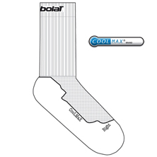 Babolat Team Single Socks weiss | Socken | Sportsocken | Tennissocken