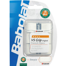 Babolat VS Grip French Open weiss 3er Overgrip Griffband