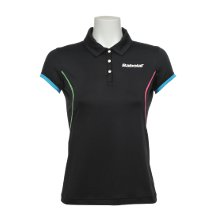 Babolat Polo Performance Women 2012 schwarz Tenniskleidung