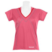 Babolat-Polo-Women-Performance-2011 rosa Frauen Damen Shirt V