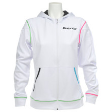 Babolat Sweat Performance Women weiss Kapuzensweatshirt Damen