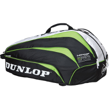Dunlop Biomimetic 10-Racket-Thermo Bag, Tennistasche gr�n, g�nstig Tennisshop