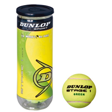 Dunlop Mini Tennis STAGE 1 ORANGE 3er Kinder, Junioren