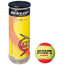 Dunlop Mini Tennis STAGE 2 ORANGE 3er Kinder, Junioren