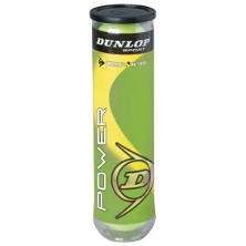 Dunlop Power Tennisb�lle 4er Balldose Training ITF