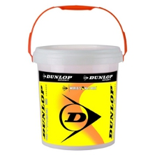 Dunlop Stage 2 orange 60 Balleimer Kinderbälle Methodikball