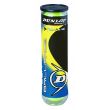Dunlop Tour Brilliance Tennisb�lle 4er