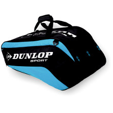 Dunlop Biomimetic Tour 10 Racket Thermo Bag blau Tennistasche 2013 von Dunlop
