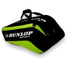 Dunlop Biomimetic Tour 10 Racket Thermo Bag gr�n Tennistasche 2013 von Dunlop