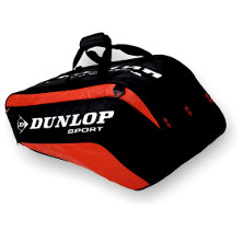 Dunlop Biomimetic Tour 10 Racket Thermo Bag rot Tennistasche 2013 von Dunlop