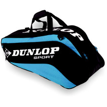 Dunlop Biomimetic Tour 6 Racket Thermo Bag blau Tennistasche 2013 von Dunlop