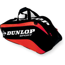 Dunlop Biomimetic Tour 6 Racket Thermo Bag rot Tennistasche 2013 von Dunlop