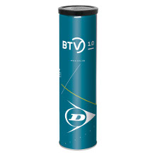 Dunlop BTV 1.0 4er Dose DTB Spielball günstig im Onlineshop Tennis-World.de bestellen - kaufen.