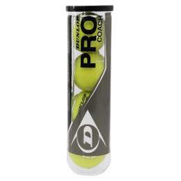 Dunlop Coach Pro 4er Balldose Tennisbälle Ball günstig