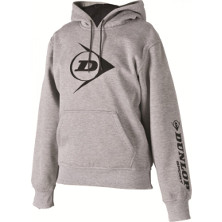 Dunlop D Tac Promo Hooded Sweat grau von Dunlop