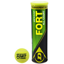 Dunlop Fort All Court 4er Ball Dose Tennisbälle