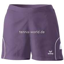 Erima Shorts Nanoline Girls plum-weiss