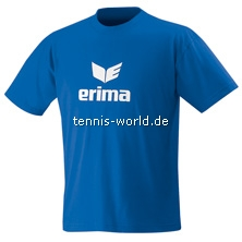 Erima Teamsport Promo T-Shirt Kinder in blau-weiss von Erima