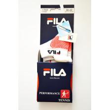 FILA Tech Sneaker Performance Socken weiß-rot von Fila