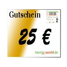Gutschein in Höhe von 25 Euro