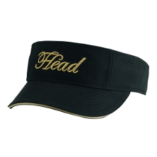 HEAD Womens Visor schwarz  Cap Tennis