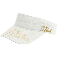HEAD Womens Visor weiss-gold Cap Tennis