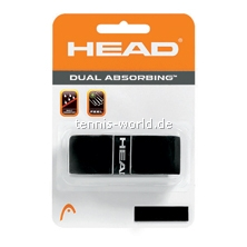 Head Dual Absorbing Basisband in schwarz