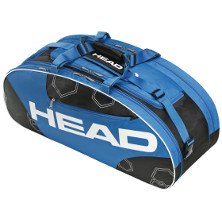 Head Elite All Court schwarz/blau Tennistasche