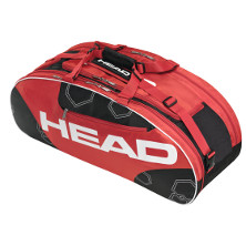 Head Elite All Court schwarz/rot Tennistasche