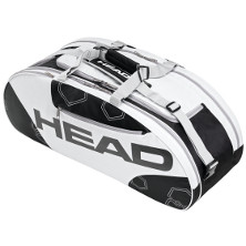Head Elite All Court schwarz/weiss  Tennistasche
