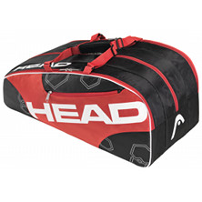 Head Elite Monstercombi schwarz/rot Tennistasche