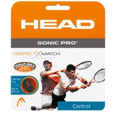 Head Sonic Pro Tennissaite Tennissaiten Set