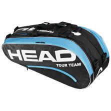 Head Tour Team Combi schwarz/blau Tennistasche