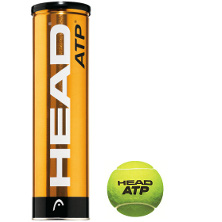 Head ATP 4 Bälle Metalldose Turnier Ball